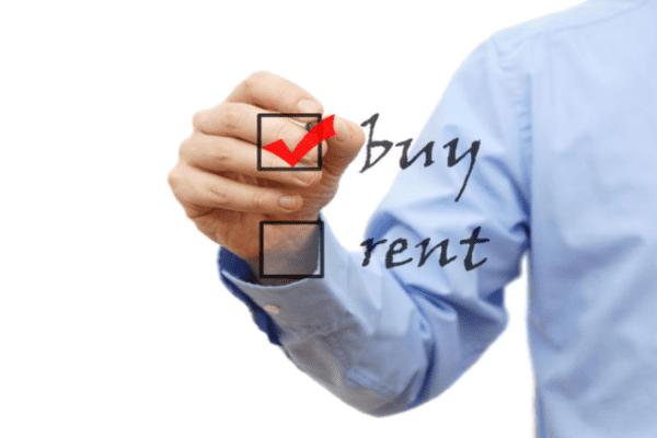 acquistare casa o affittarla